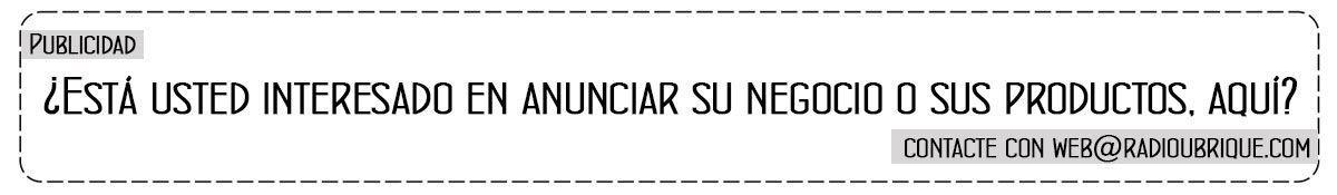 Colabora con Radio Ubrique